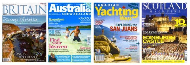 magazine bylines from around the world