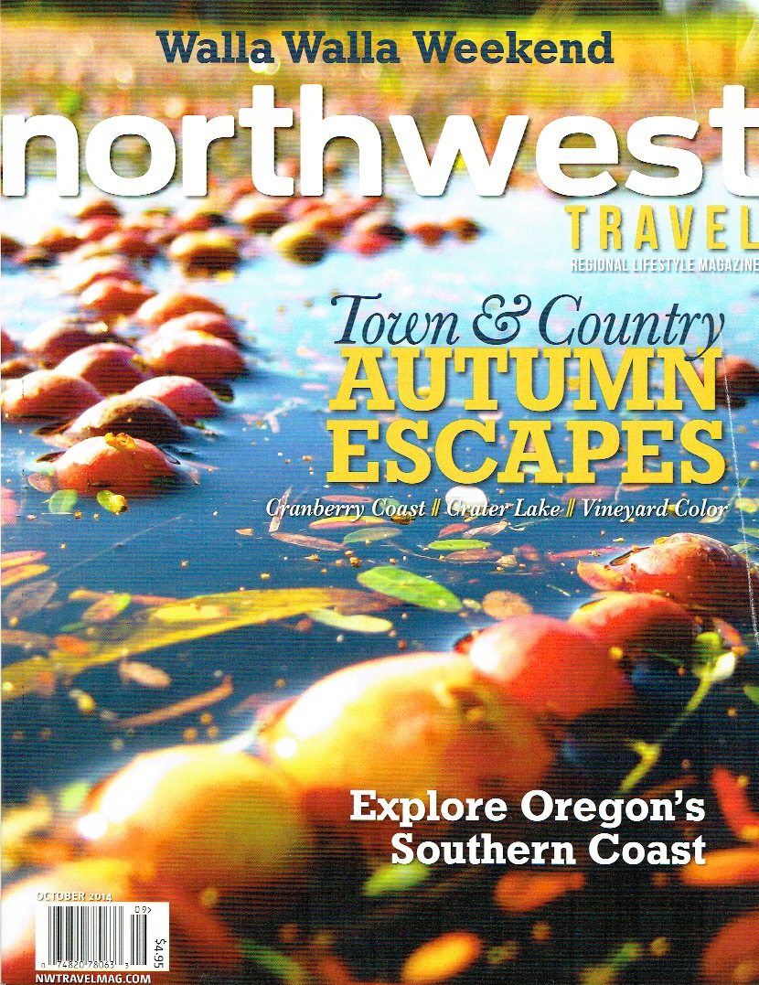 luxury travel stories are published in regionals like Northwest Travel & Life magazine