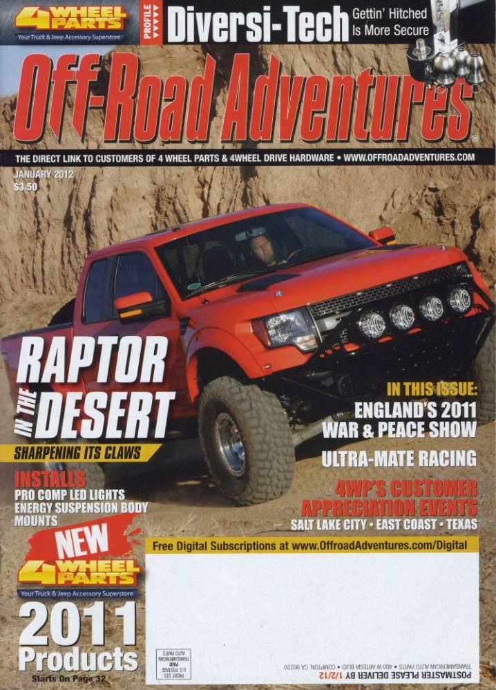 Off Road Adventures cover