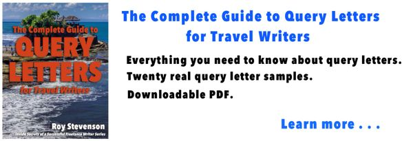how to write a travel article pitch