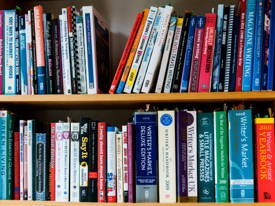Writer's Market and similar reference books help writers find publications.
