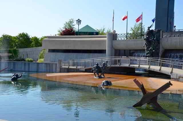 Press trips 2015 took me to the National D-Day Memorial in Bedford, Virginia