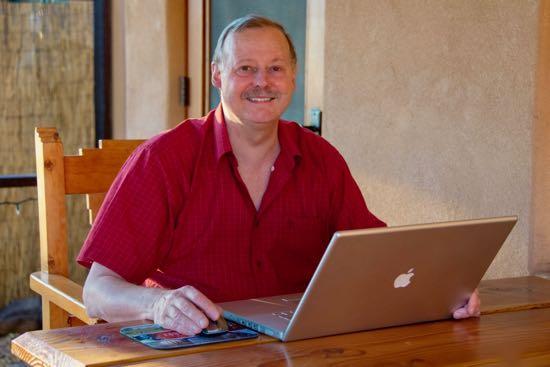 Roy Stevenson, freelance travel writer