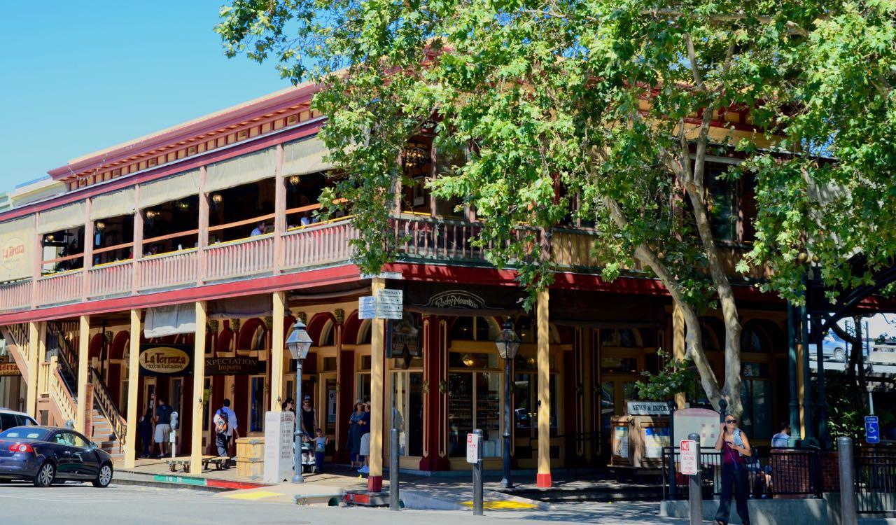 Historic building in Sacramento, California