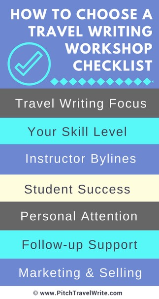 how to choose a travel writing workshop