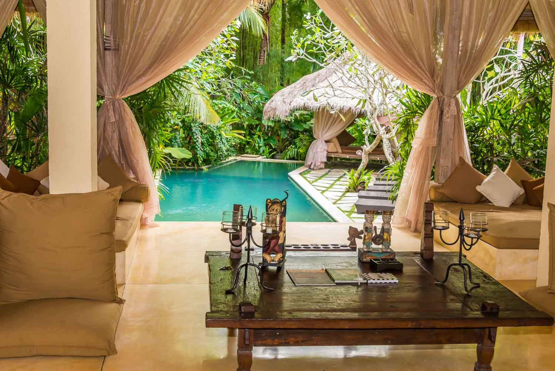 on a press trip at Villa Mathis, Bali, Indonesia
