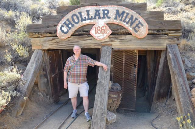 old mines are a special interest of mine - here's one in Nevada on a press trip