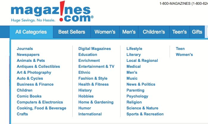 magazine leads on vendor websites can help you build your list