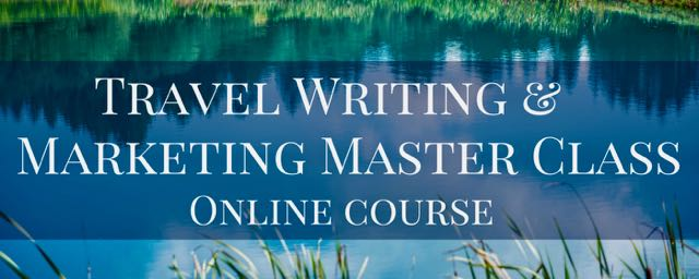 my travel writing workshop is now available as an online master class