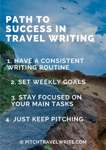 successful travel writers do these four things consistently