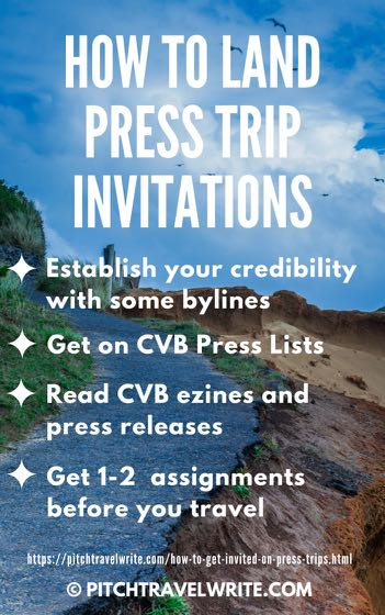four tips for press trip invitations