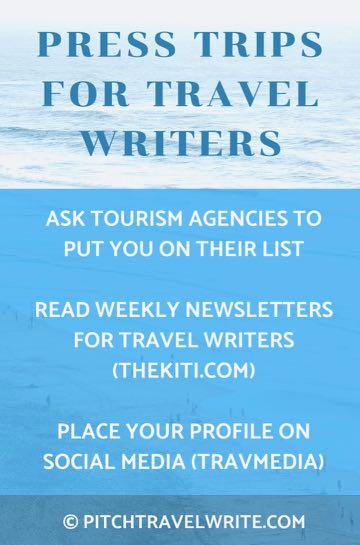 three ways to find press trips for travel writers