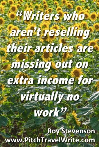 reselling articles for freelance writers