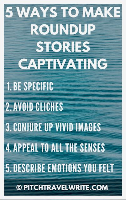 roundup stories can be boring - here's how to make them more captivating
