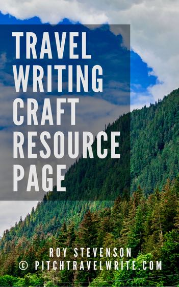 travel writing craft resource page with all the articles