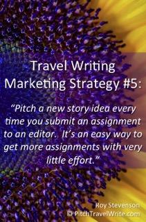 travel writing marketing strategy