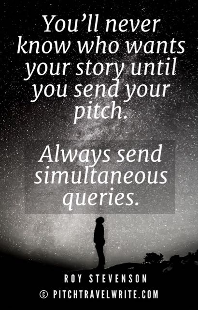 travel writing and sending out a pitch letter