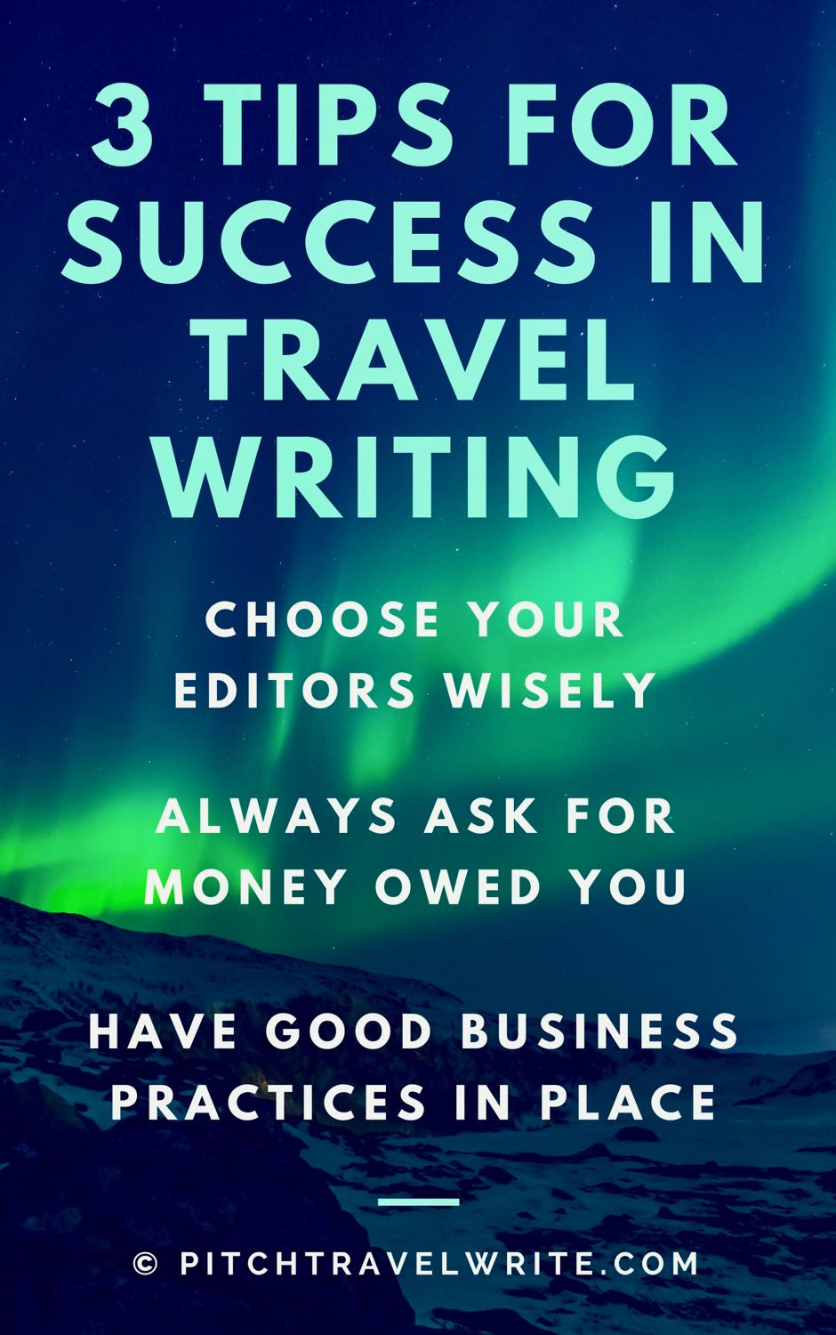 A travel writing reality check includes many unsavory sides of the business.  Here's how to compensate ...