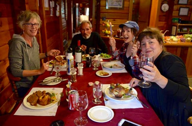 Good etiquette on a press trip includes socializing with fellow travel writers.